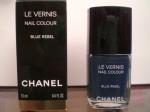 553 Blue Rebel Chanel Le Vernis