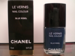 553 Blue Rebel Chanel Le Vernis