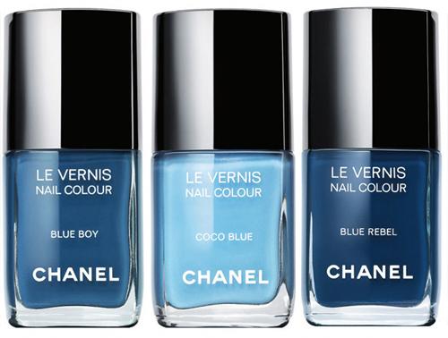 Blue boy le vernis blog for Chanel milano boutique