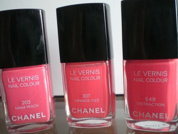 Smalto Chanel Miami peach