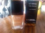 457 Gold Fingers Chanel Le Vernis