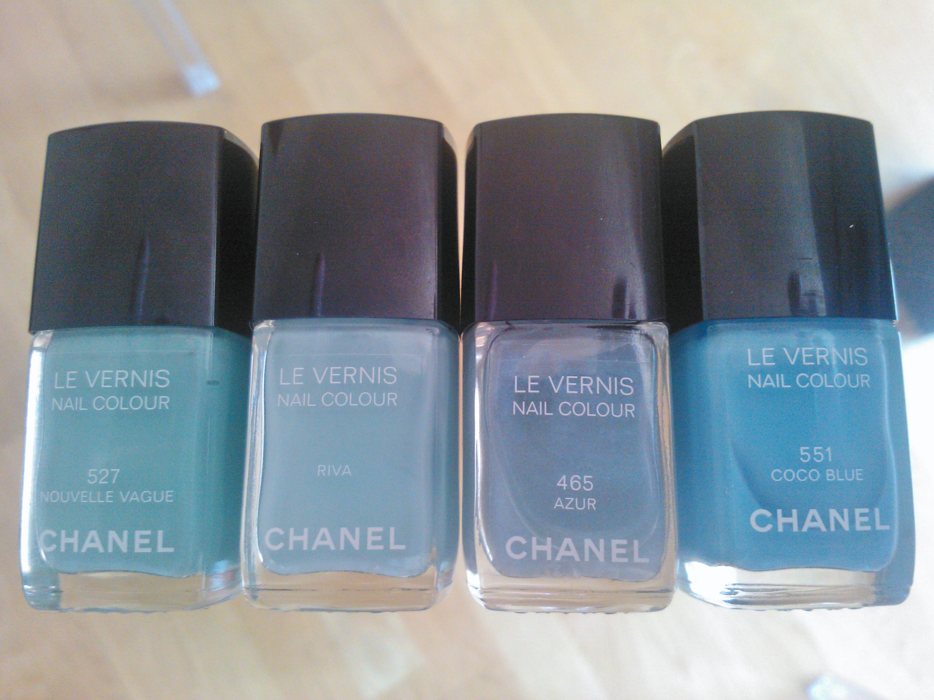 Chanel Azzurro Tiffany Le Vernis Blog