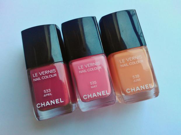 Chanel April May June