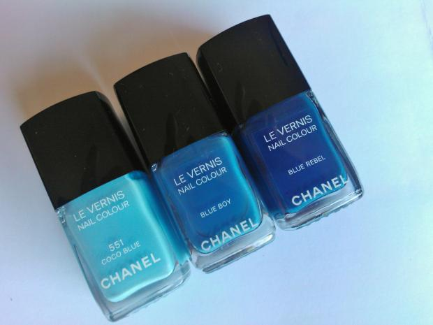 Chanel Coco Blue Blue Boy Blue Rebel