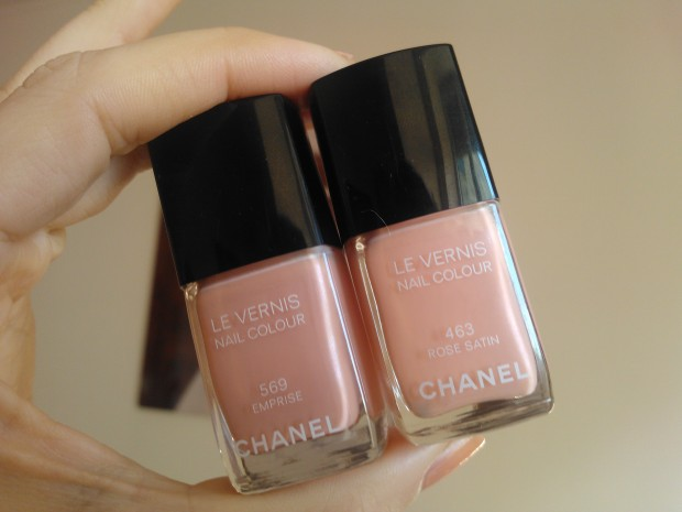 chanel emprise rose satin