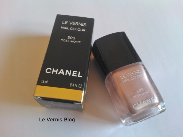 Chanel Rose Moire 593