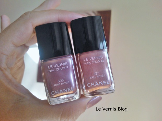 Chanel Rose Moire perle rosee